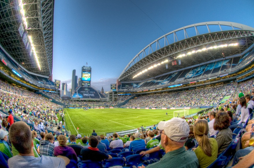 CenturyLink Field Seattle Sounders