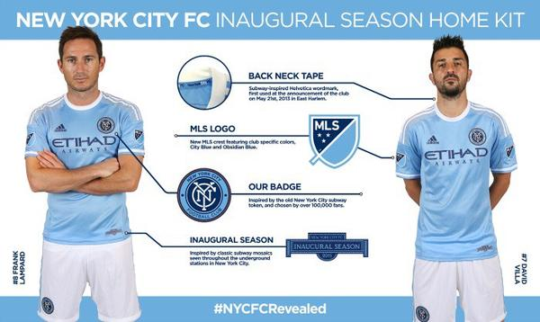 NYCFC Kit details