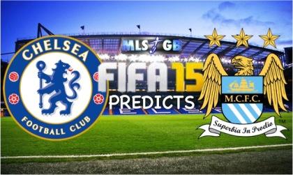 Chelsea vs Manchester City FIFA 15 Prediction