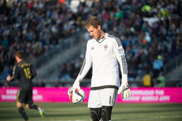 Clint Irwin in action for the Colorado Rapids (Photo: Derik Hamilton/USA TODAY Sports)