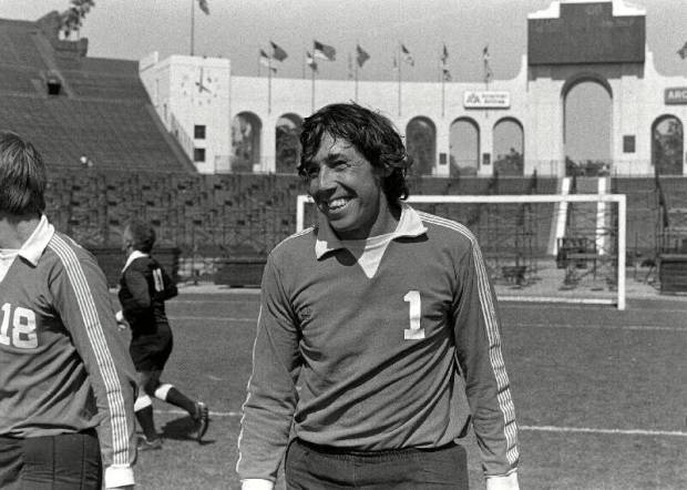 Gordon Banks (Photo: NASLJerseys.com)