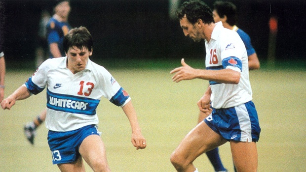 Peter Beardsley playing for the Vancouver Whitecaps (Photo: VancouverWhitecaps.com)