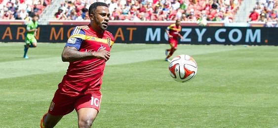 Robbie Findley Real Salt Lake