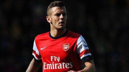 Jack Wilshere Arsenal Getty