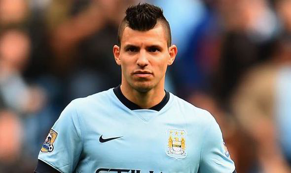 Image result for sergio aguero getty