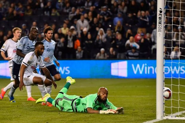 PHOTO: Philadelphia Union look on helplessly (Picture courtesy of Jasen Vinlove-USA TODAY Sports)