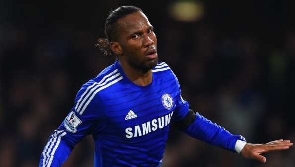 Didier Drogba Chelsea Getty