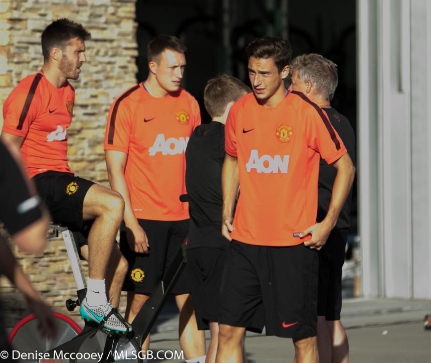 Manchester United Training Seattle 2015 Matteo Darmian