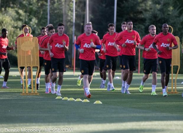 Manchester United Training Seattle 2015 Wayne Rooney