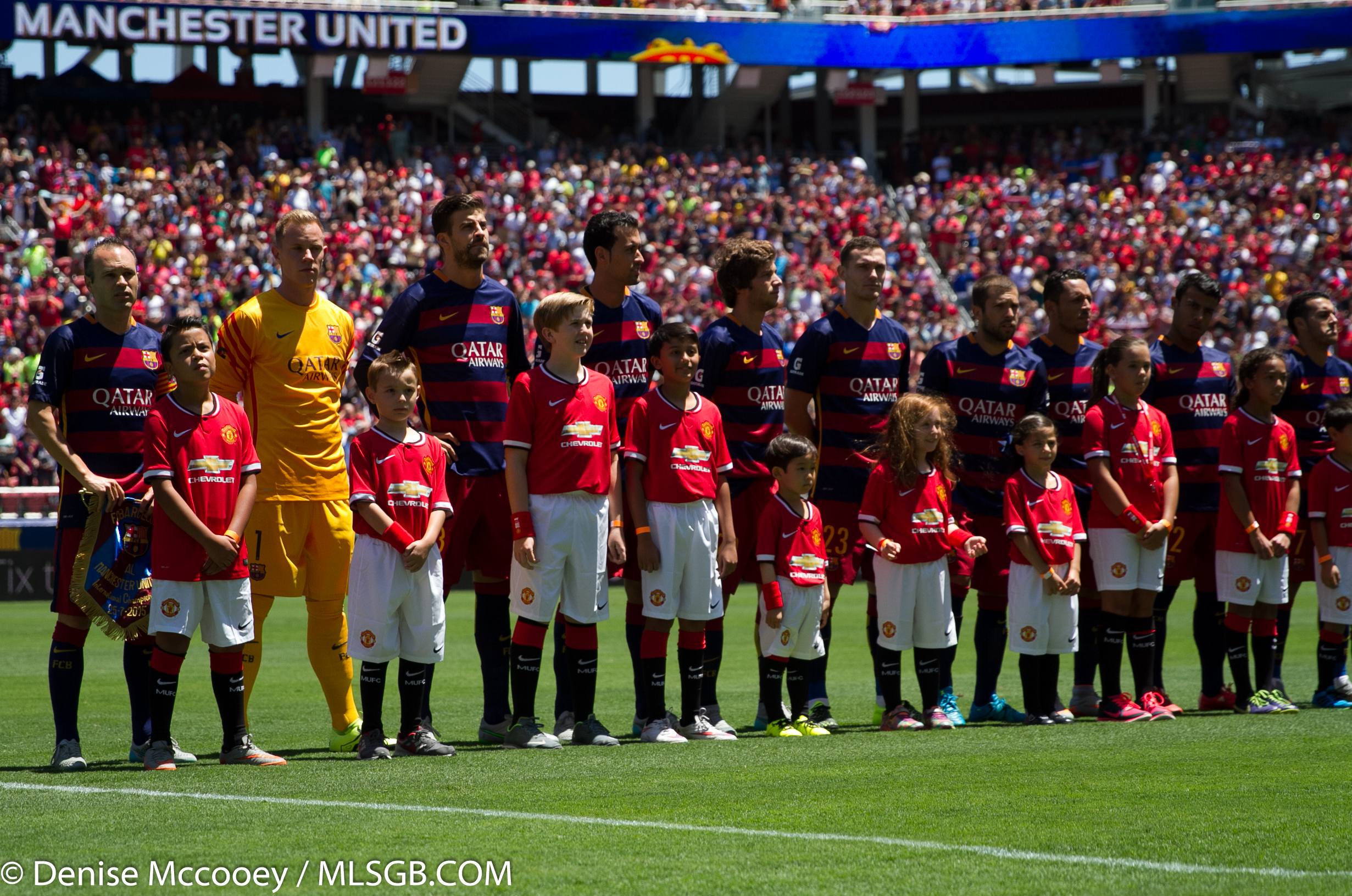Barcelona Vs: PHOTOS: Exclusive Images From Manchester United's Win