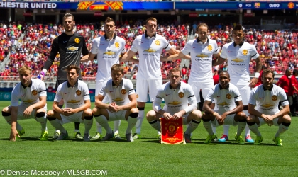 Manchester United vs FC Barcelona Levi's Stadium