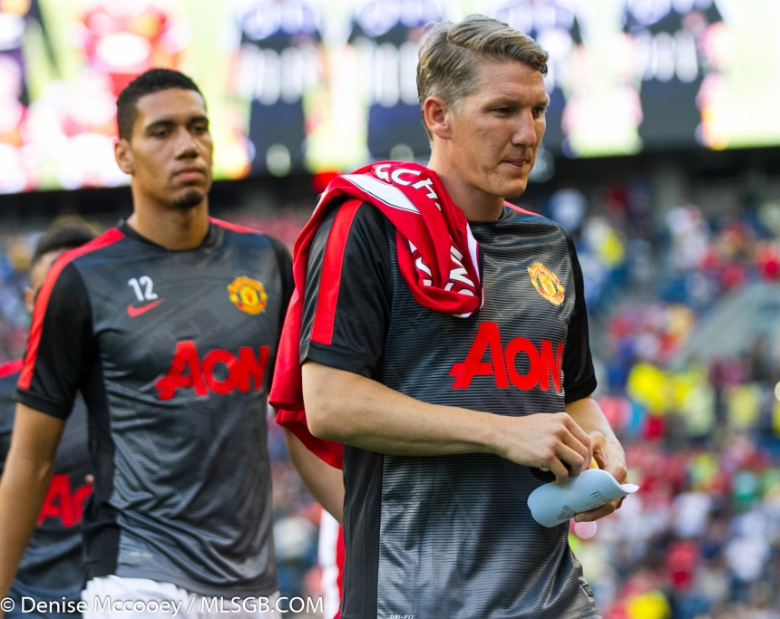 Manchester United vs Club America Seattle Schweinsteiger