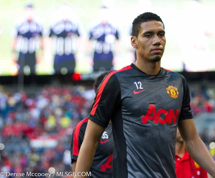 Manchester United vs Club America Seattle Smalling