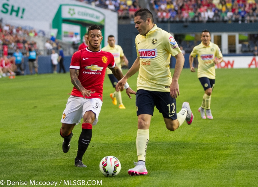 Manchester United vs Club America Seattle Depay
