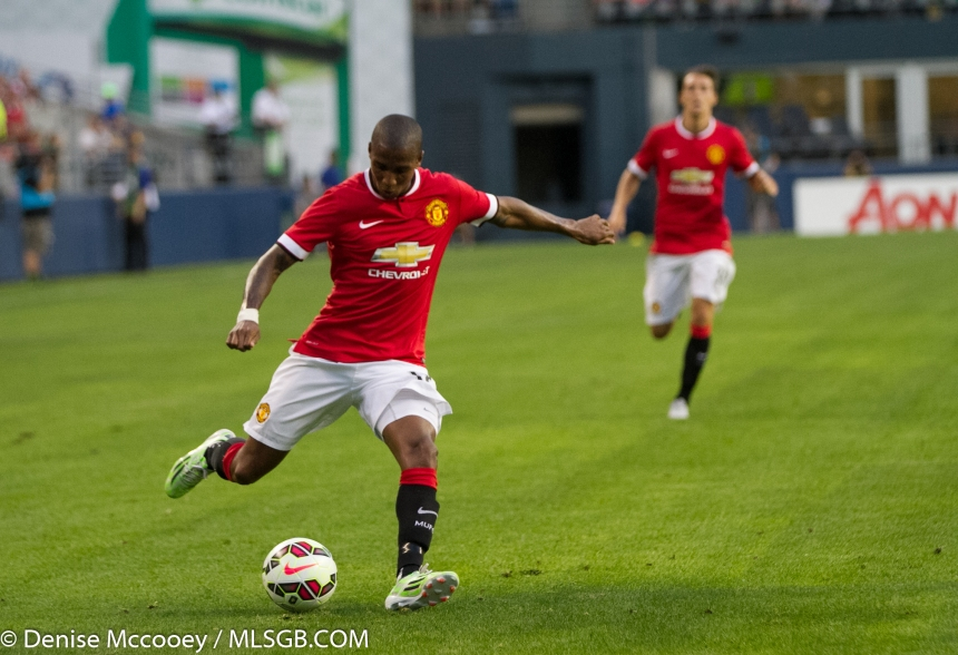 Manchester United vs Club America Seattle Young