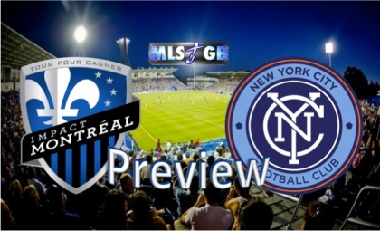 Montreal Impact vs NYCFC Preview and Prediction