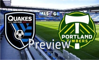San Jose Earthquakes vs Portland Timbers Preview and Prediction