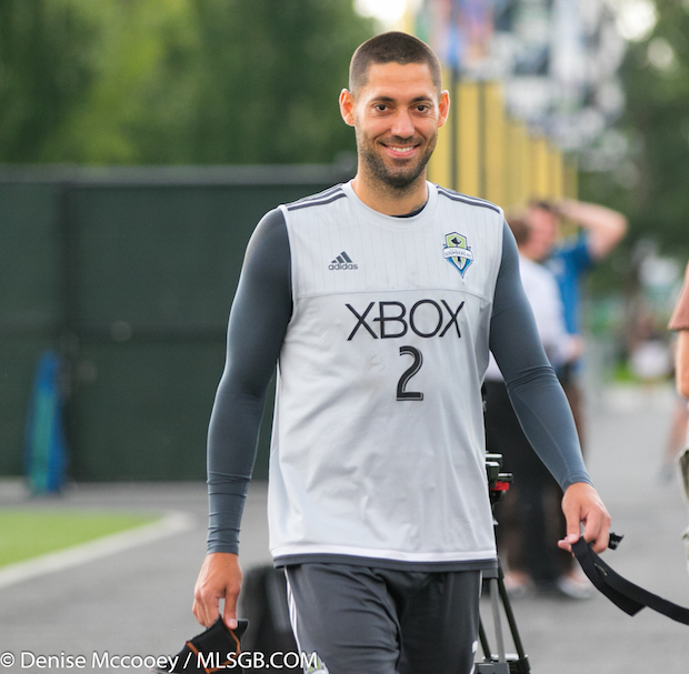 Seattle Sounders Training Clint Dempsey
