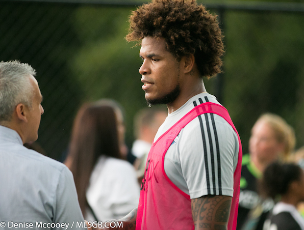 Seattle Sounders Training Roman Torres