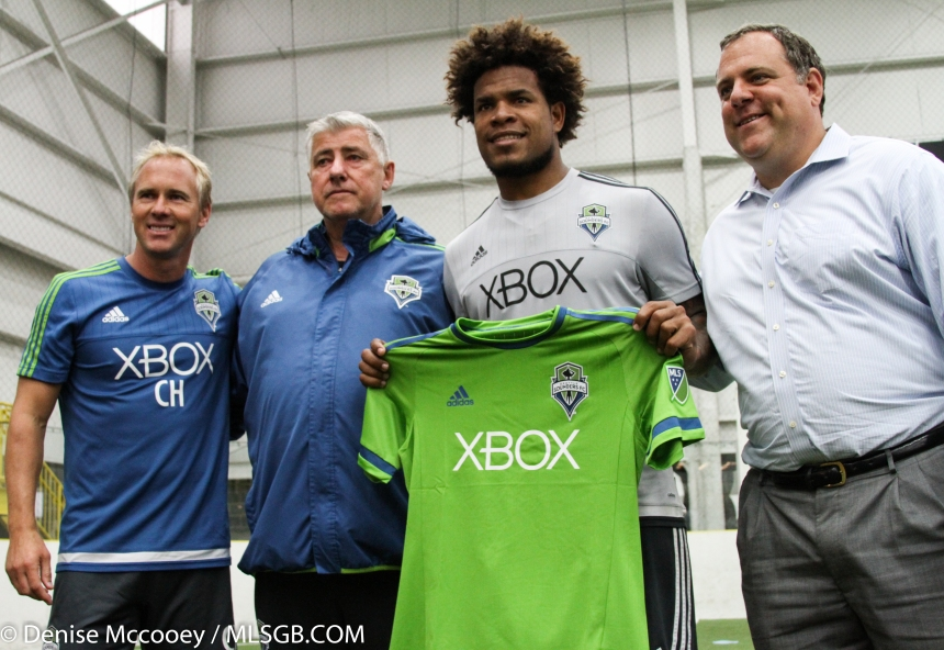 Seattle Sounders Signing Roman Torres
