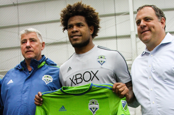 Seattle Sounders Signing Roman Torres Header