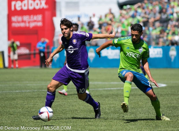 Seattle Sounders vs Orlando City Kaka