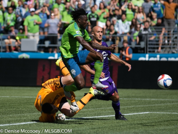Seattle Sounders vs Orlando City Obafemi Martins