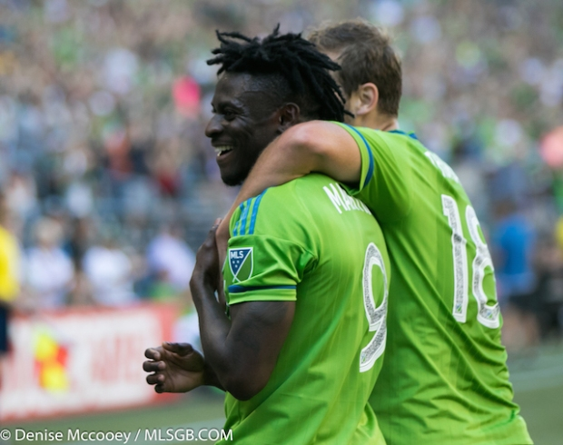Obafemi Martins Seattle Sounders