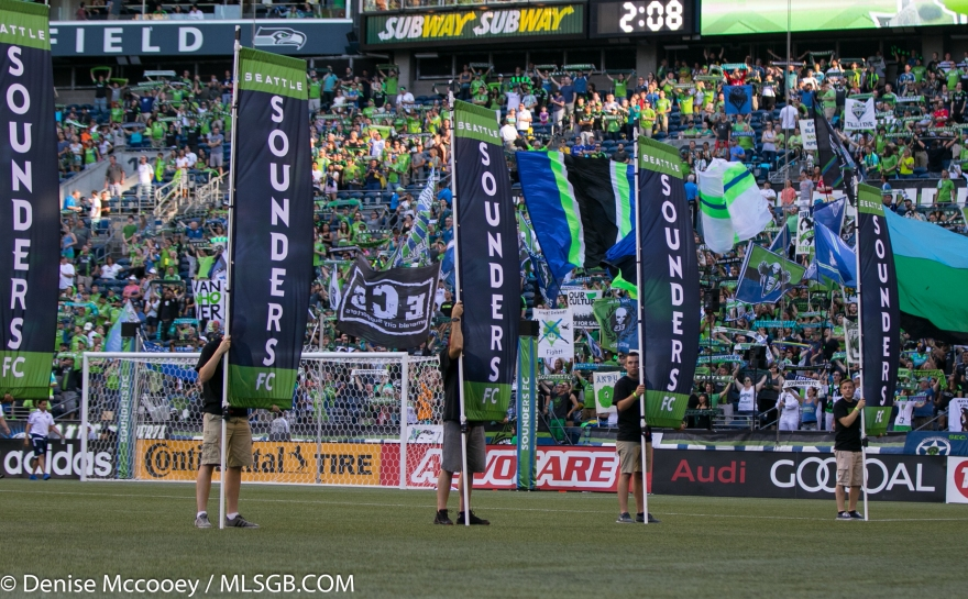 Seattle Sounders Banners
