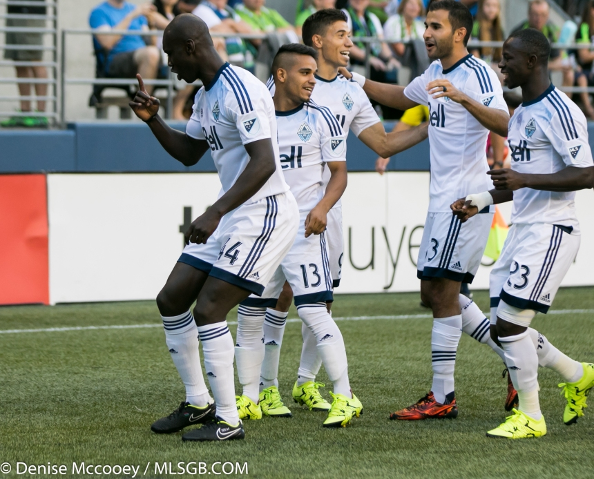 Seattle Sounders vs Vancouver Whitecaps Pa-Modou Kah