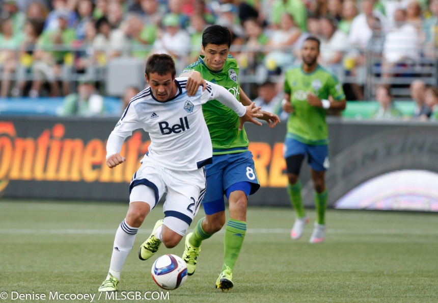 Seattle Sounders vs Vancouver Whitecaps Rivero Pineda