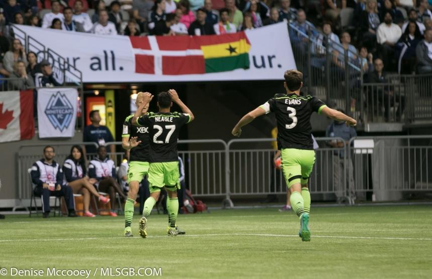 Seattle Sounders vs Vancouver Whitecaps CONCACAF Champions League Lamar Neagle