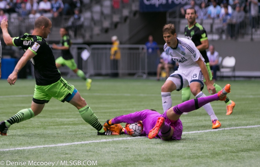 Seattle Sounders vs Vancouver Whitecaps CONCACAF Champions League