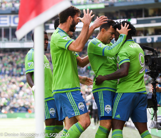 Seattle Sounders vs Portland Timbers
