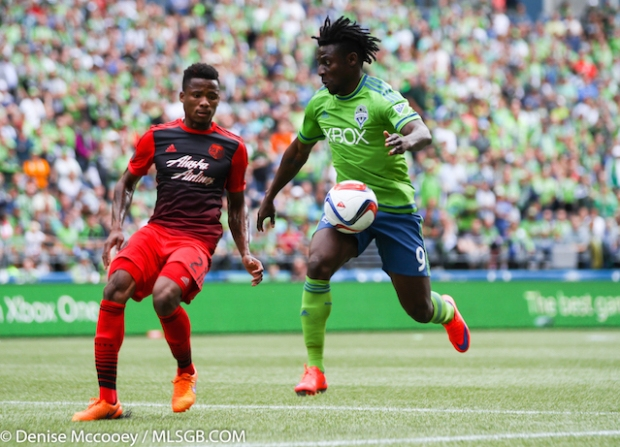 Seattle Sounders vs Portland Timbers Martins