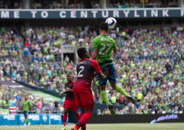 Seattle Sounders vs Portland Timbers Neagle Powell
