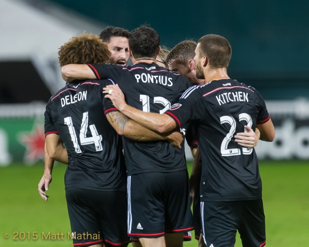 DC United vs New England Revolution