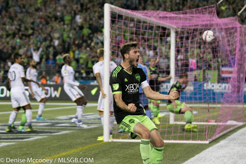 Seattle Sounders vs LA Galaxy Brad Evans