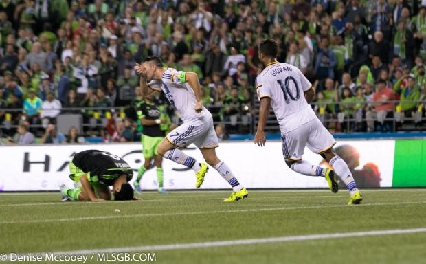 Seattle Sounders vs LA Galaxy Robbie Keane