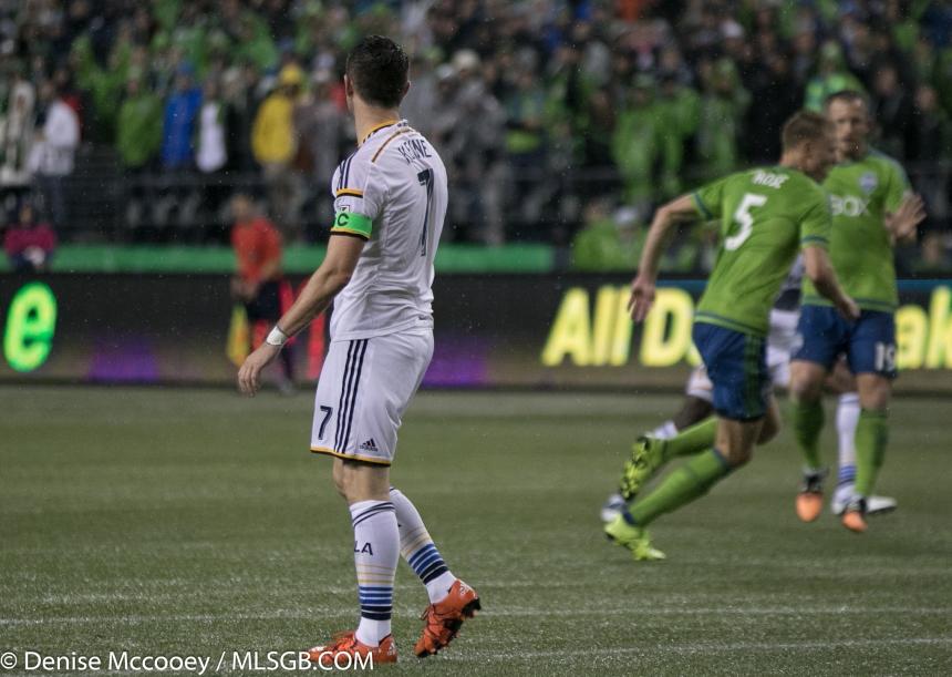 Seattle Sounders vs LA Galaxy MLS Playoffs 2015 Robbie Keane