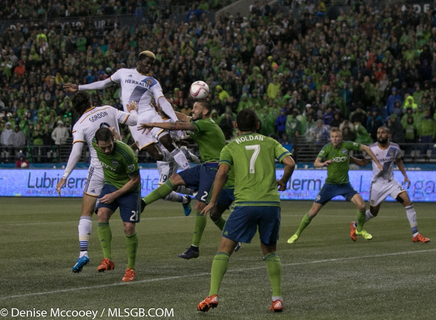 Seattle Sounders vs LA Galaxy MLS Playoffs 2015