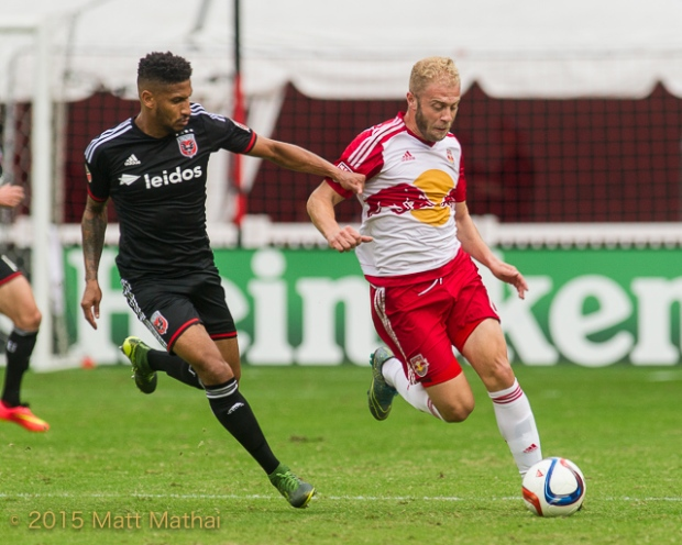 DC United vs New York Red Bulls Mike Grella