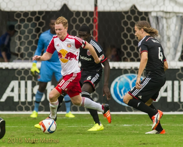 DC United vs New York Red Bulls Dax McCarty