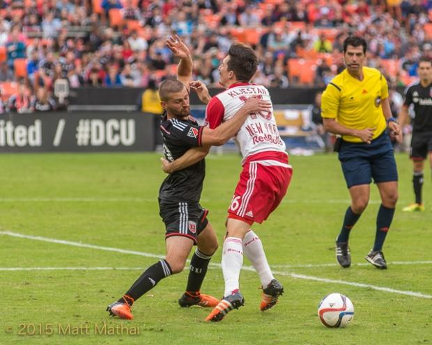 DC United vs New York Red Bulls Sacha Kljestan Perry Kitchen