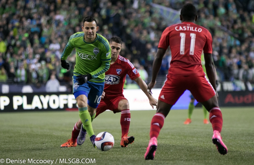 Seattle Sounders vs FC Dallas  Marco Pappa