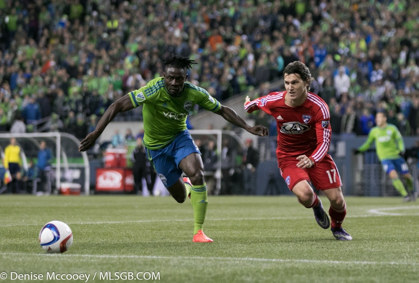 Seattle Sounders vs FC Dallas Obafemi Martins