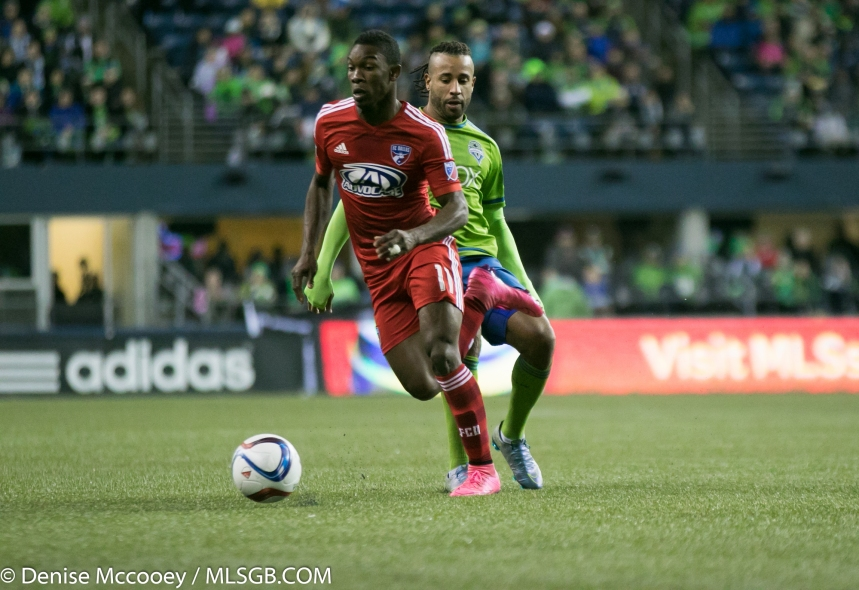 Seattle Sounders vs FC Dallas Fabian Castillo