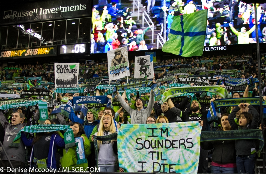 Seattle Sounders vs FC Dallas Fans