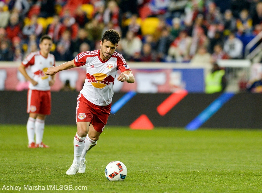 MLS: New York Red Bulls vs. Houston Dynamo Felipe