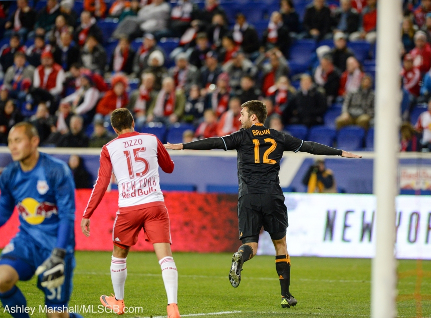 MLS: New York Red Bulls vs. Houston Dynamo Will Bruin